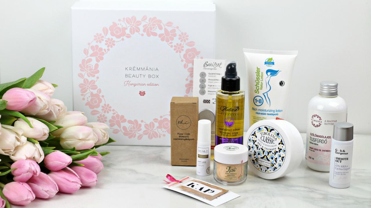 2. Krémmánia Beauty Box - Hungarian Edition